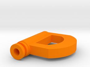D Drip Tip in Orange Processed Versatile Plastic