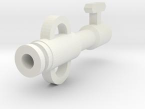 Skeleton Key Drip Tip in White Natural Versatile Plastic