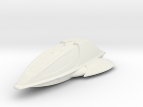 New Shuttle in White Natural Versatile Plastic