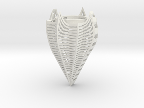 Modern Light 1 in White Natural Versatile Plastic