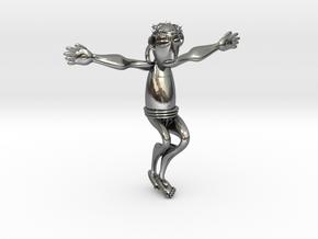 Yesu in Polished Silver