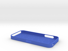 Iphone 5 Image1 in Blue Strong & Flexible Polished