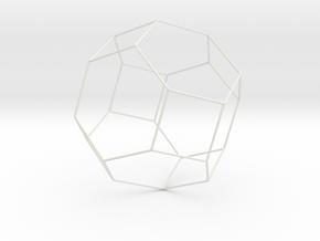 Octaedrotruncado1 in White Strong & Flexible