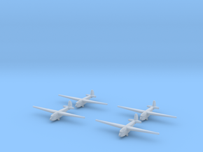A-7 Russian Glider 1/600 (X4) in Smooth Fine Detail Plastic
