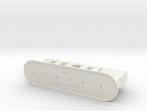 TEETH Toothbrush Holder 2014 in White Natural Versatile Plastic