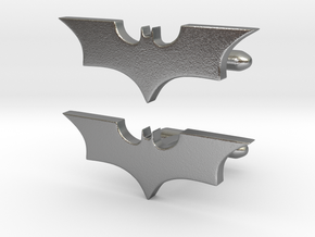 Batman dark knight Cufflinks   in Natural Silver