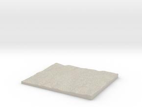 Model of Selside in Natural Sandstone