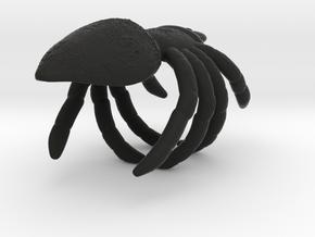 Spider Gripper 22mm in Black Natural Versatile Plastic