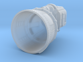 F1 Engine Batted 1:144 in Smooth Fine Detail Plastic