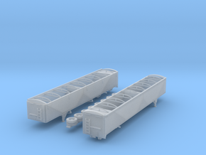 1:160 N Scale 50' Spread Axle Grain Trailer in Frosted Ultra Detail