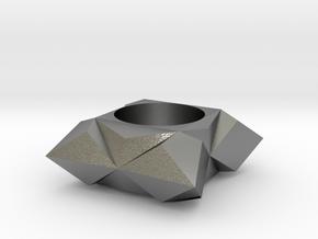 Geometric in Natural Silver