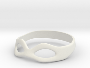 Eye Mask - In Progress in White Natural Versatile Plastic