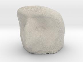 Owl head piece   in Natural Sandstone