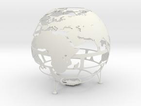 Empty Earth in White Natural Versatile Plastic