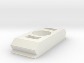 Clips in White Natural Versatile Plastic