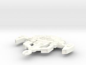 Vantar Class Interceptor in White Processed Versatile Plastic