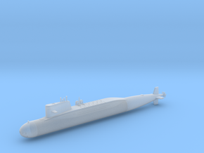 1/700 Type 092 (Xia Class) SSBN in Smooth Fine Detail Plastic