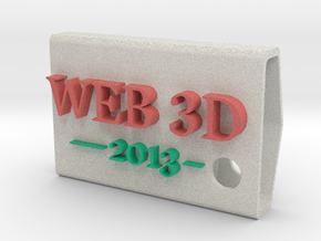 KeyFobWeb3d2013BasqueCountry in Full Color Sandstone