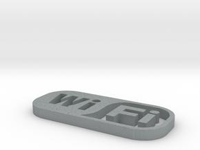 Wifi in Polished Metallic Plastic