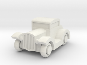 Hot Rod V19 in White Natural Versatile Plastic