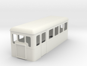 009 cheap and easy bogie railcar 22 in White Natural Versatile Plastic