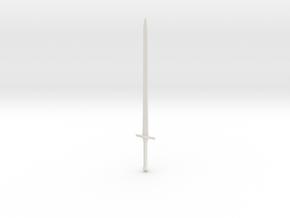 Blade 50cm in White Natural Versatile Plastic