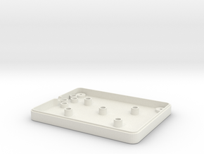 IntyKeypad Bottom in White Natural Versatile Plastic