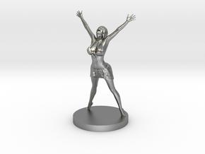 Joyful In Heart Figurine in Natural Silver