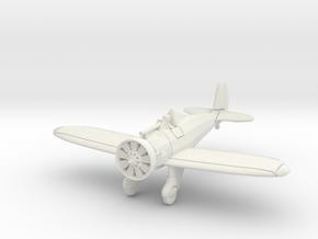 "1/144 Boeing P-26 ""Peashooter"" in White Natural Versatile Plastic"