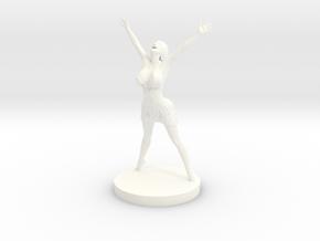 Joyful In Heart Figurine in White Processed Versatile Plastic