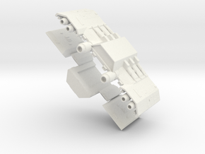 Daedalus Group 2small in White Natural Versatile Plastic