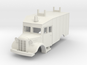 Austin K2  (Bellewagen 3) 1:87 in White Natural Versatile Plastic