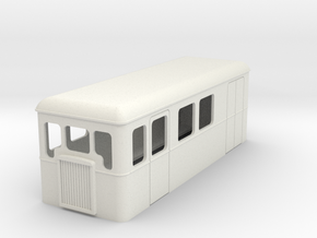 009 cheap and easy bogie railcar 23 in White Natural Versatile Plastic
