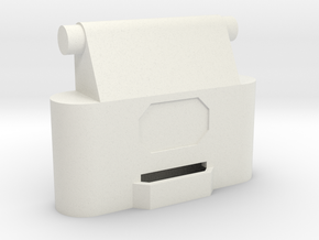 Leica / Wild GST20 1/4 scale tripod leg top in White Natural Versatile Plastic