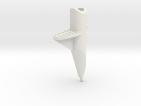 Leica / Wild GST20 1/4 scale tripod foot in White Natural Versatile Plastic