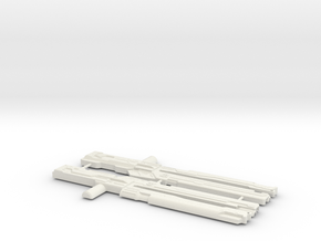 Railgun Wrecker in White Natural Versatile Plastic