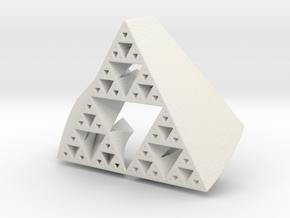Sierpinski SuperFractal in White Strong & Flexible