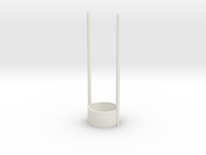 mashmellow tealight roaster in White Strong & Flexible