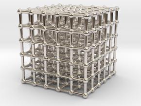 cube matrix (large) in Platinum