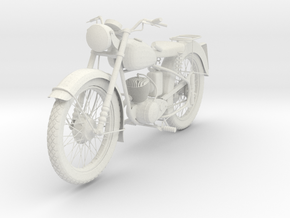 Bsa Bantam in White Natural Versatile Plastic