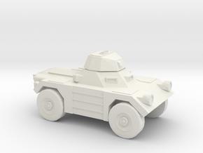 1:200 Daimler FERRET in White Natural Versatile Plastic