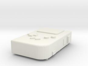 PiGRRL Raspberry Pi Gameboy in White Natural Versatile Plastic