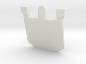 IBM Model F - Pivot Plate v2 in White Natural Versatile Plastic
