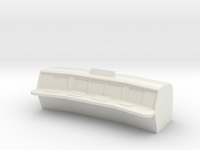 Control Room Console V2 in White Natural Versatile Plastic
