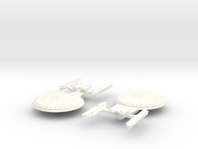 USS Sojourn in White Processed Versatile Plastic