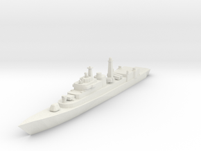 Type052 1:700 X1 in White Natural Versatile Plastic