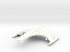 DeathHawk Class Cruiser in White Processed Versatile Plastic
