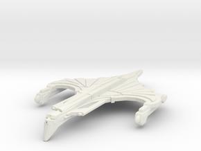 WarRock Class HvyCruiser in White Natural Versatile Plastic