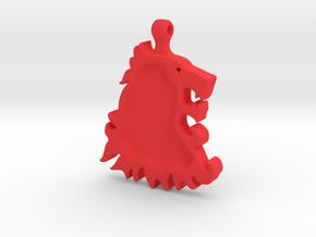 Game of Thrones LannisterLion in Red Processed Versatile Plastic