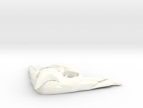 FLYHIGH: Mens Bird Pendant in White Processed Versatile Plastic